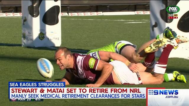 Matai and Stewart on cusp of retirement