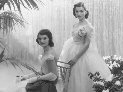 Jacqueline and Lee Bouvier in 1951.