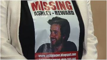 Ashley Bindon was last seen in Rose Bay back in 2005.
