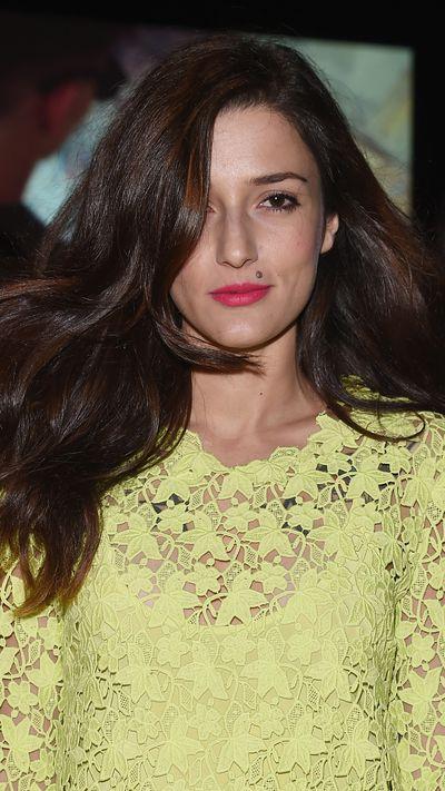Eleonora Carisi: The side-swept hair