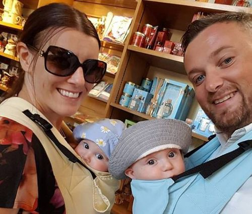 Police say Samantha Ford killed her two 23-month-old twins Jake and Chloe on December 26.
