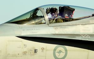 The end of an era: Australia's classic Hornet jet fighters undergo last service