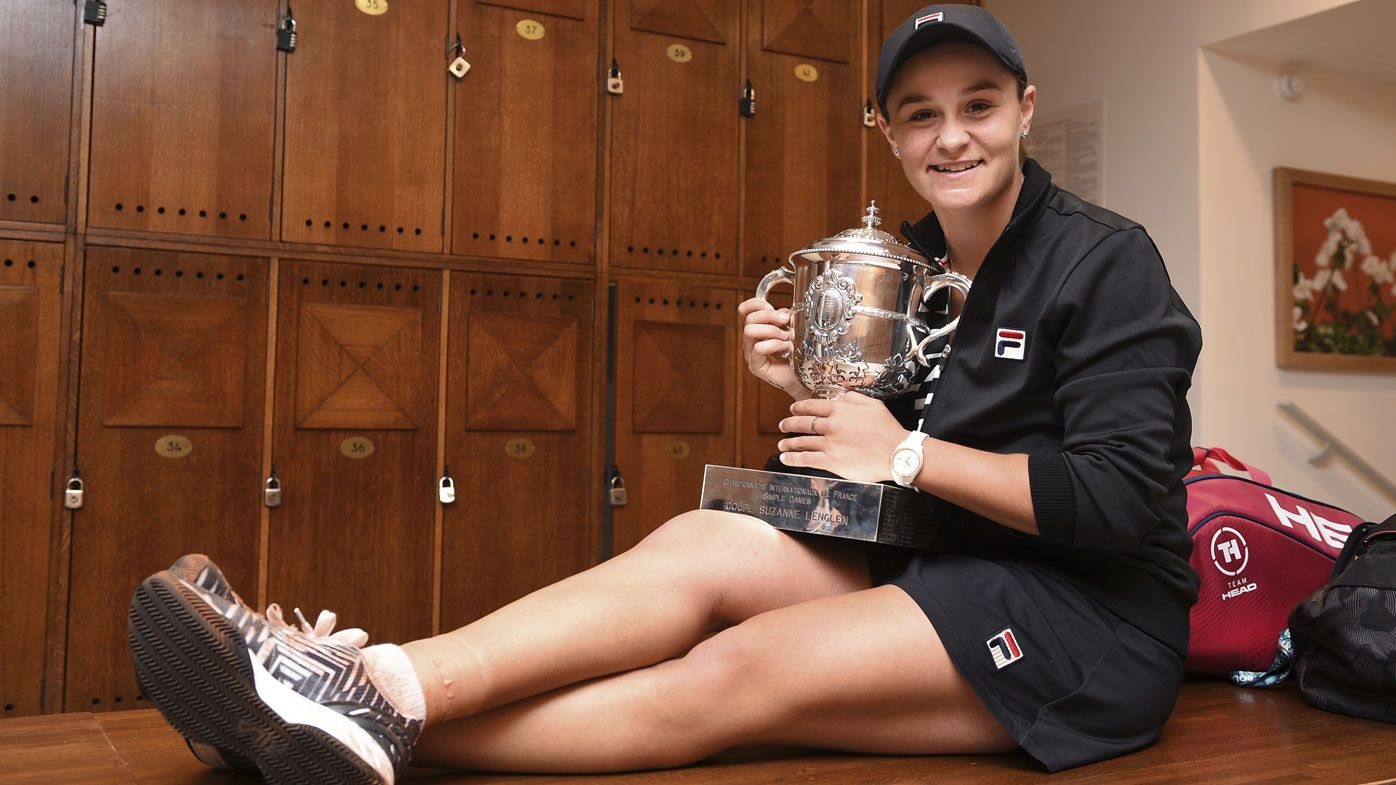 Ash Barty hails cricket stint after French Open win, as sport reacts to her triumph