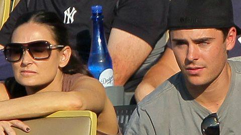 'Desperate' Demi Moore 'tracked down' Zac Efron