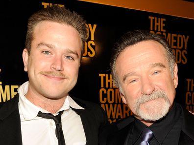 Zak Williams and Robin Williams