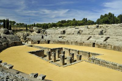 <strong>Italica Amphitheatre,Spain</strong>