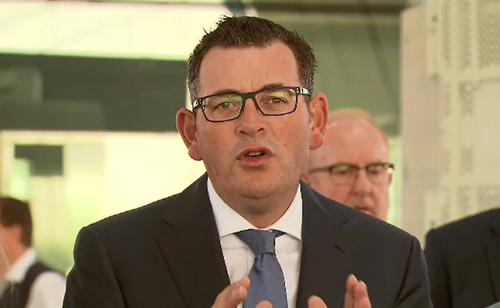 Daniel Andrews says getting rid of level crossings is a major win for both passengers and motorists. (9NEWS)