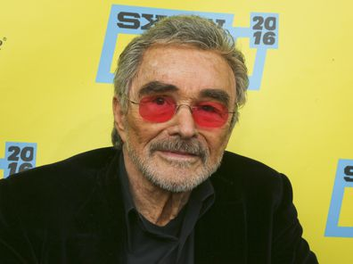 "Actor Burt Reynolds appears at the world premiere of ""The Bandit"" during the South by Southwest Film Festival on March 12, 2016, in Austin, Texas."