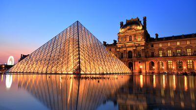 9. Admire art at the Louvre Museum in Paris
