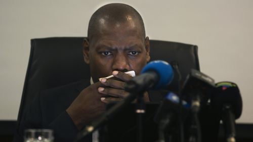 South Africa's Health Minister Zweli Mkhize