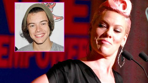 'Apparently he loves a cougar': Has Pink got the hots for Harry Styles?