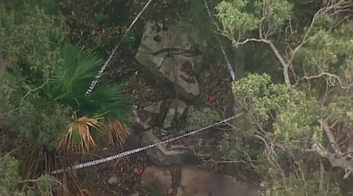 Bones found in the Royal National Park in Sydney belonged to a man, police say.