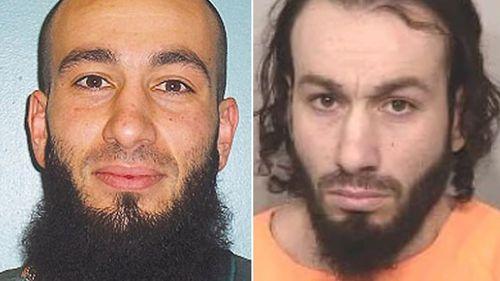 Gang leader Bassam Hamzy's brother Mejid (right) has been shot dead in Sydney.