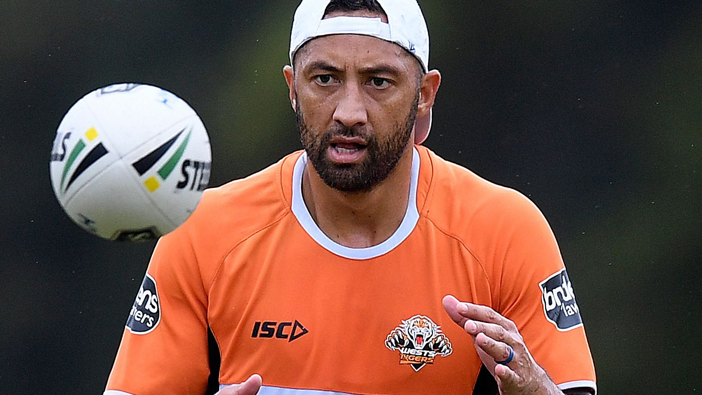 Wests Tigers star Benji Marshall denies deliberately giving away penalties in NRL win over Storm