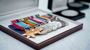 WWII medals stolen from Campbell, Canberra address reunited with owner.