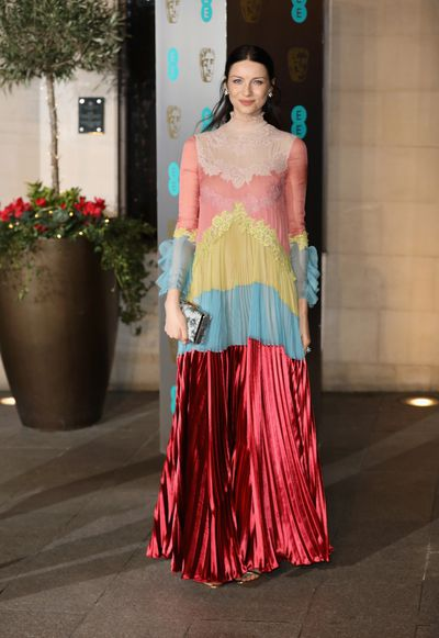 Catriona Balfe is perfection - again - only this time in Valentino. As far as we're concerned the Outlander actress can do no wrong.