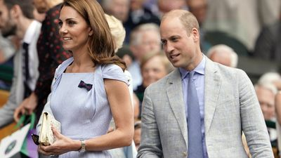 Duke and Duchess of Cambridge, Men's Singles Final 2019