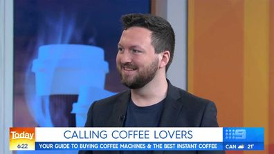 Jonathan Brown from Choice, on Today show