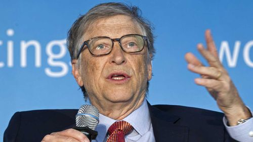 Bill Gates is stepping down from the board of Microsoft.