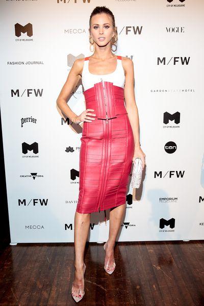 Style influencer Britt Davisat Melbourne Fashion Week September 2018