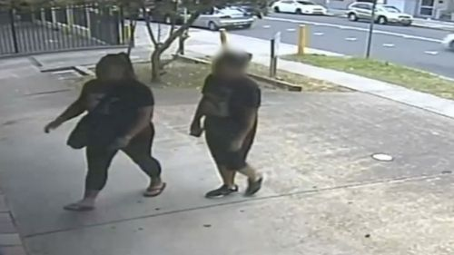 Police have released CCTV footage of a woman they wish to speak to about the murder of Bankstown lawyer Ho Ledinh. (NSW Police)
