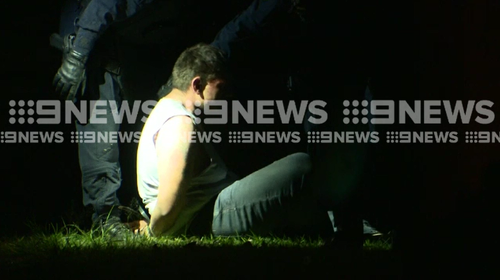A man is in custody after a crime spree in Sydney's west this week.