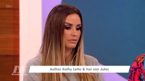 Katie Price discusses possibility of hiring a prostitute for disabled son Harvey