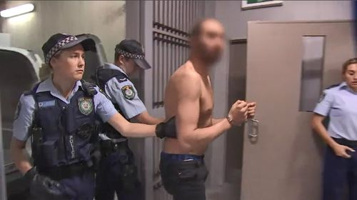 Police arrested eight people, seized one kilogram of drugs and $235,000 as part of an investigation into a Sydney drug ring yesterday. Picture: 9NEWS.