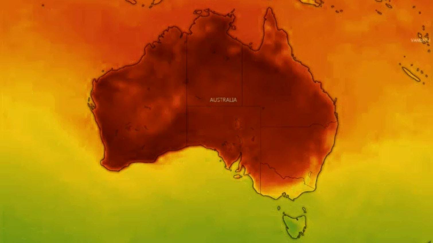 Heatwave could break Aussie records