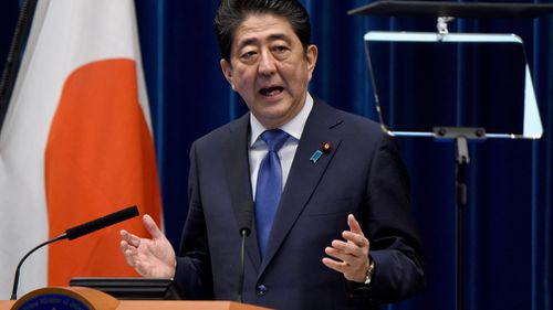 Japanese Prime Minister Shinzo Abe has called a snap election. (AFP)