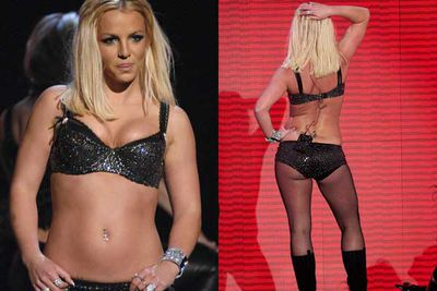 With her new album <i>Circus</i> sitting top of the charts, her performance was supposed to herald a comeback. Instead Brit was panned for lip synching and too big a bod for too small an outfit.