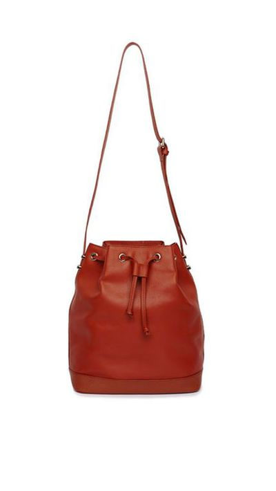 <p>The bucket bag</p>