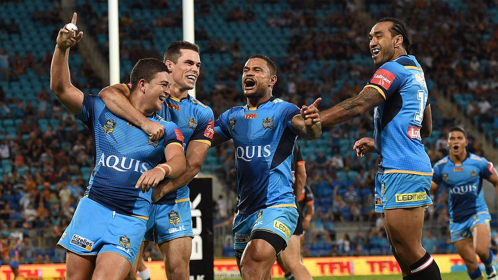 Titans upset Tigers on Gold Coast