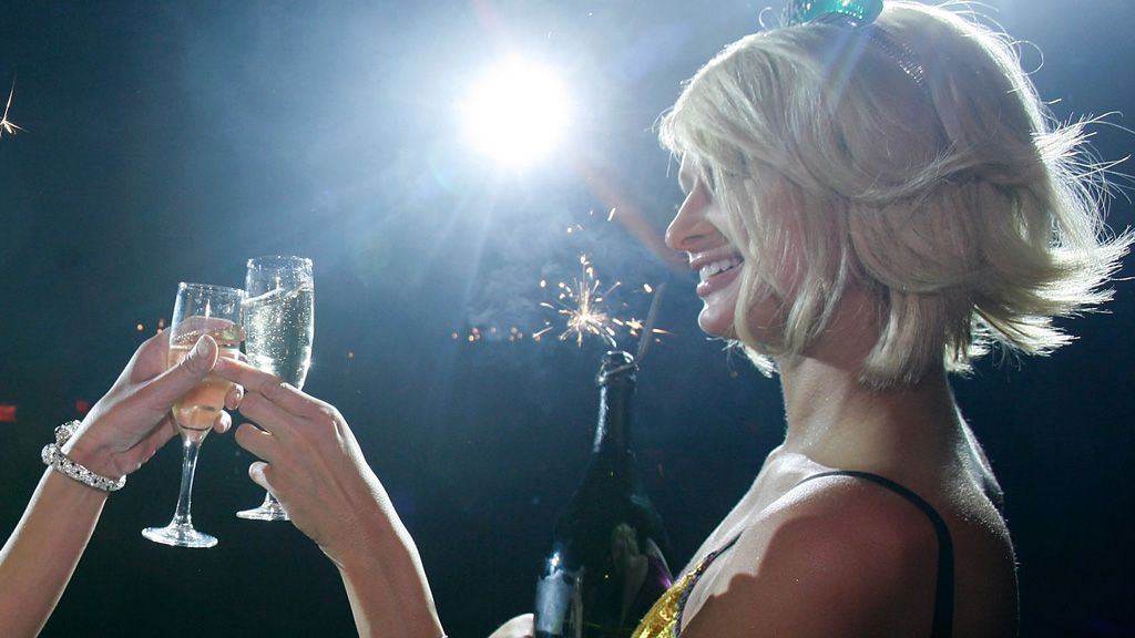 Here's to you Paris Hilton. Image: Getty.