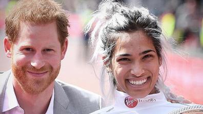 Madi meets Prince Harry