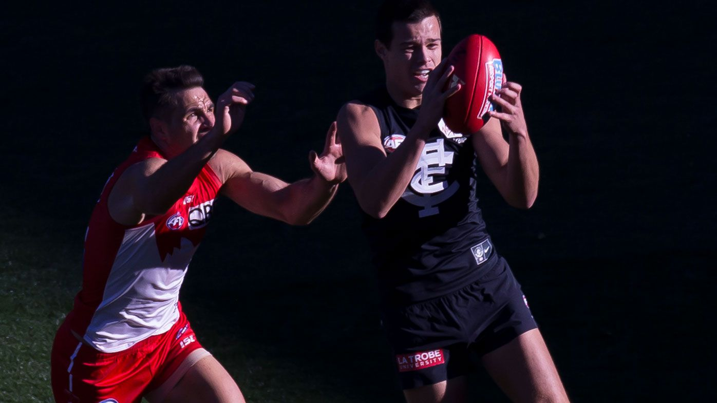 AFL: Carlton Blues shade Swans in upset at SCG