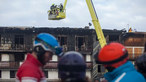 Investigators are trying to pinpoint the cause of the blaze.