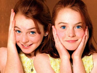 Lindsay Lohan, The Parent Trap, then and now, gallery