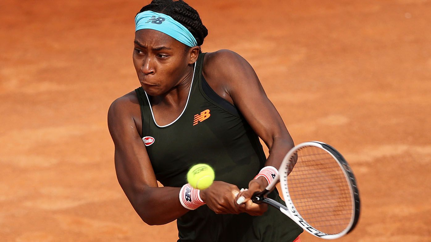 Coco Gauff wins second WTA title by beating Wang Qiang in Emilia-Romagna Open final