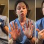 Nurse proves how fast germs spread even when wearing gloves