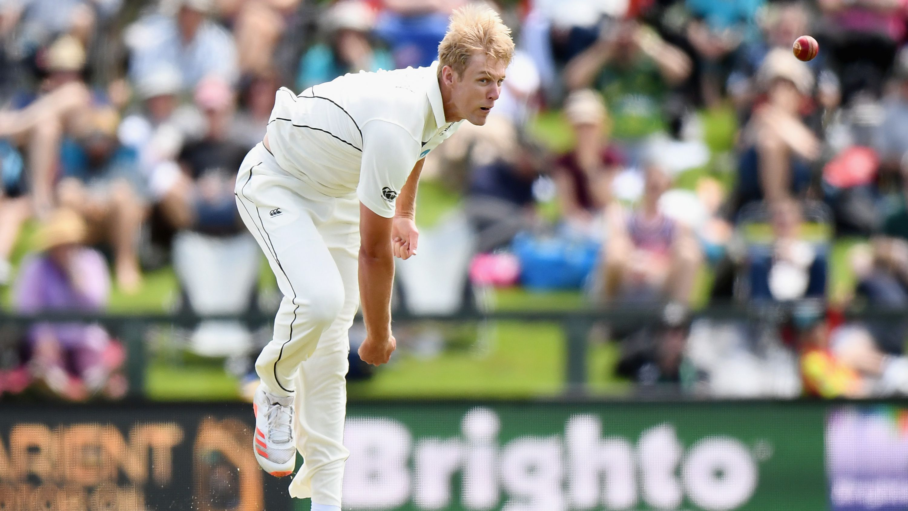 New Zealand paceman Kyle Jamieson takes 5-69 as Pakistan's first innings ends at 297