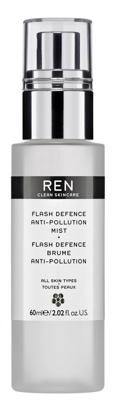 "<a href=""http://mecca.com.au/ren/"" target=""_blank"">REN Flash Defence Instant Anti-Pollution Shield, $73.00.</a>"