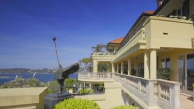 This is what $40 million buys you in Sydney - an opulent waterfront mansion, which is the second most expensive sold this year. Click through the gallery to see more images.