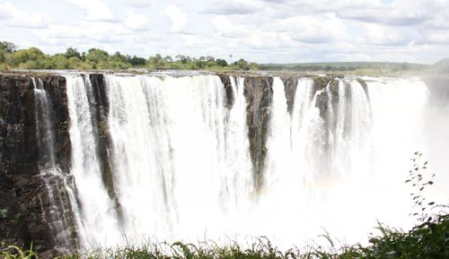The attack happened near Victoria Falls in Zimbabwe.