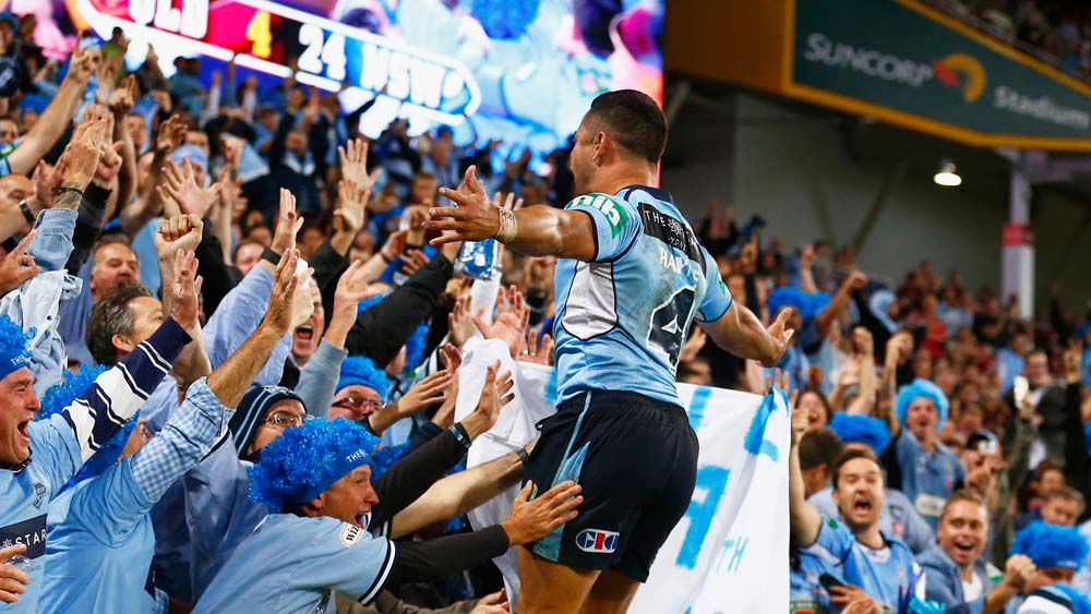 State of Origin: Jarryd Hayne scores spectacular try
