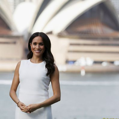 Meghan Markle in Sydney during Royal Tour 2018