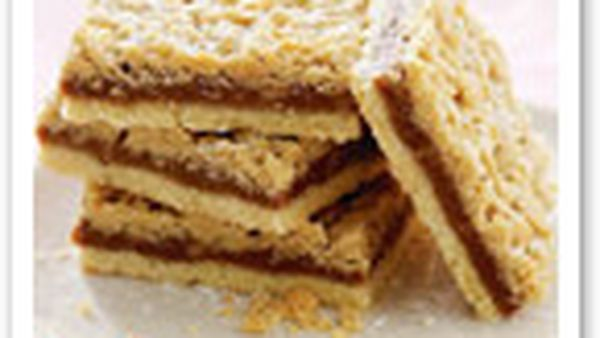 Coffee streusel slice