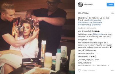 """<p>Gorgeous Blake is honest too about the amount of work that goes into her look.</p> <p>""""I did not wake up like this,"""" she says.</p>"""