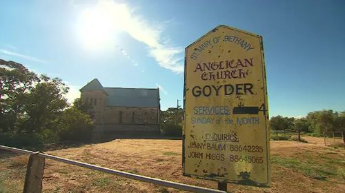 The future of services at the place of worship is now under threat as a result of the break-ins. Picture: 9NEWS.