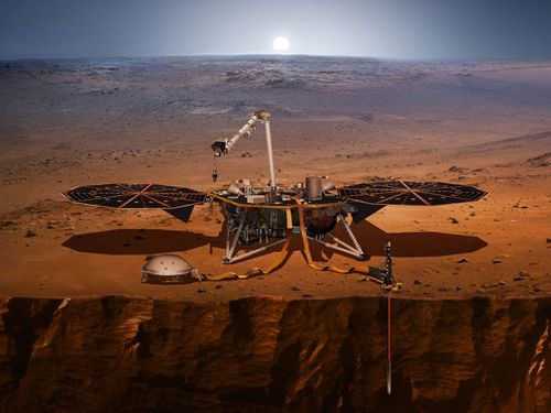 NASA hasn't put a spacecraft down on Mars since the Curiosity rover in 2012. The US in fact is the only country to successfully land and operate a spacecraft at Mars. (NASA)